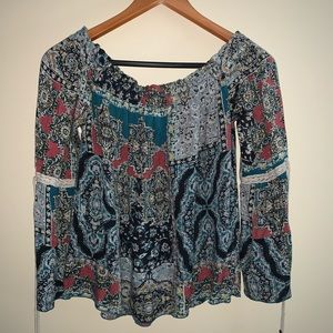 O'Neill Off the Shoulder Long Sleeve